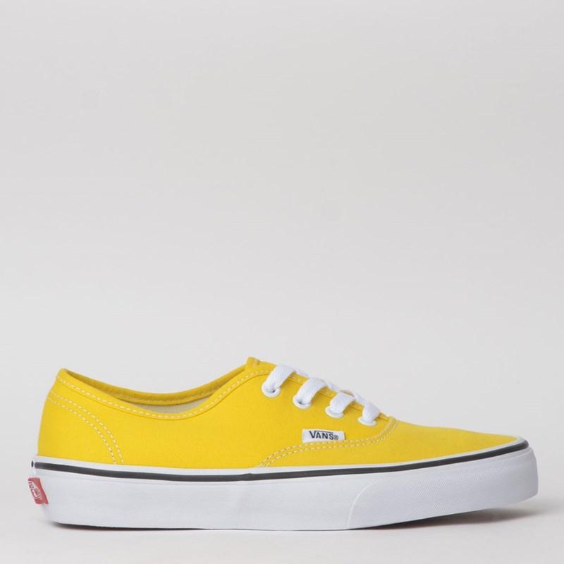 Tênis Vans Authentic Vibrant yellow True White VN0A2Z5IFSX