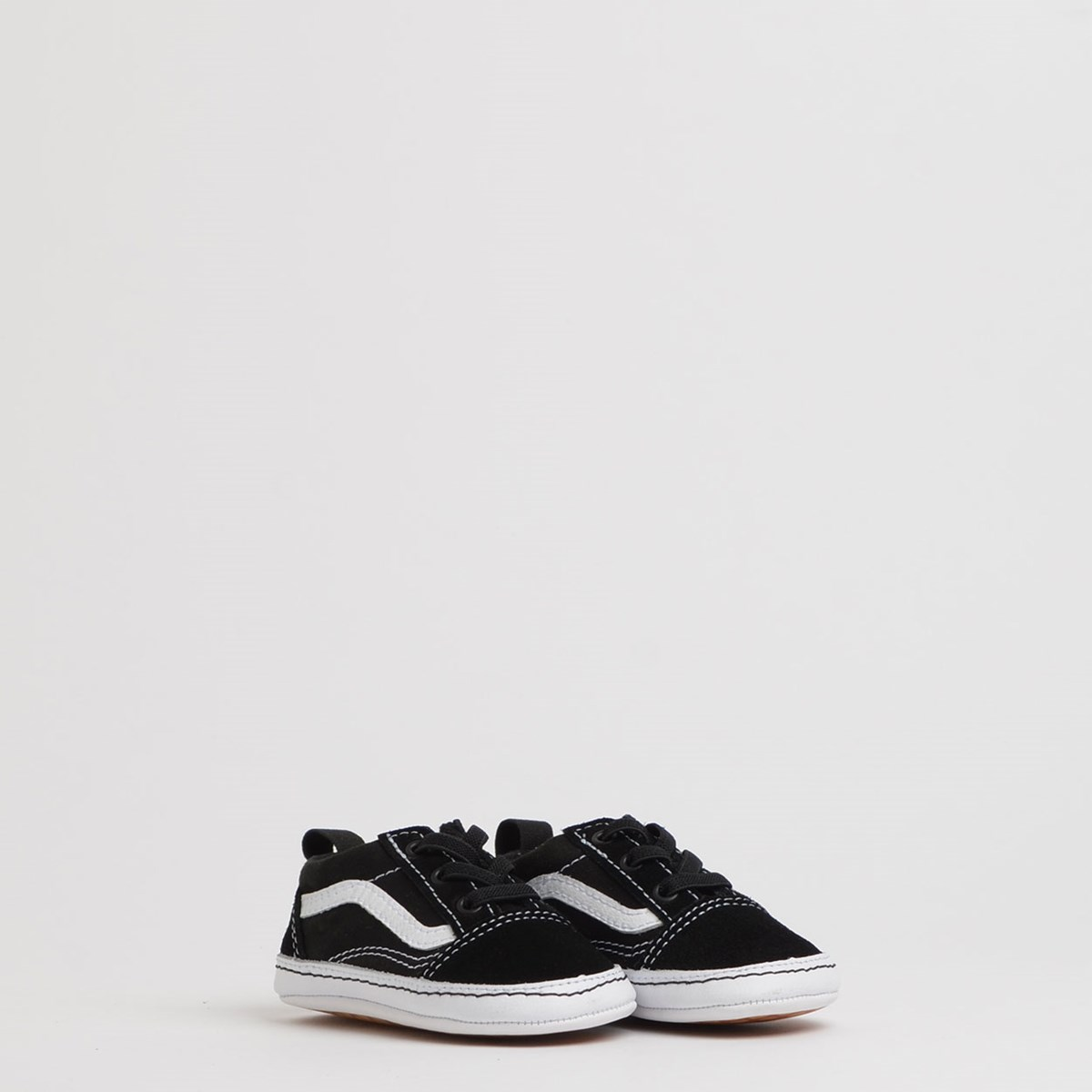 Tênis Vans Baby Old Skool Crib Black True White VN0A3U8K6BT