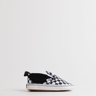Tênis Vans Baby Slip On V Crib Checker Black True White VN0A2XSLFB7