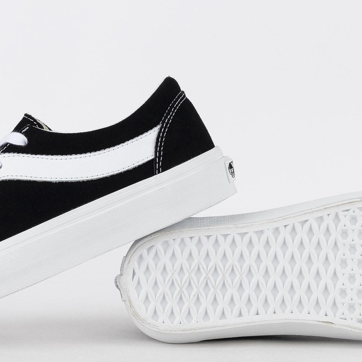 Tênis Vans Bold Ni Distort Black True White VN0A3WLPVX6
