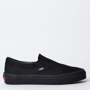 Tênis Vans Classic Slip-On Black Black VN-0EYEBKA