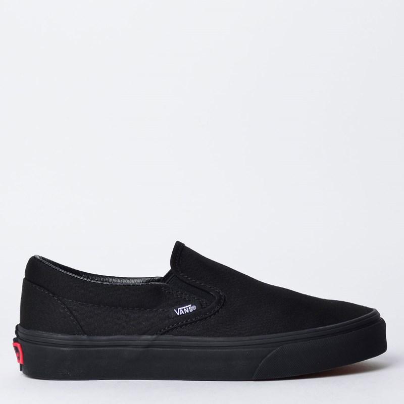 Tênis Vans Classic Slip-On Black Black VN-0EYEBKA