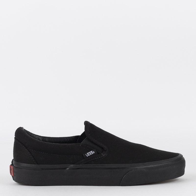 Tênis Vans Classic Slip-On Black Black VN000EYEBKA