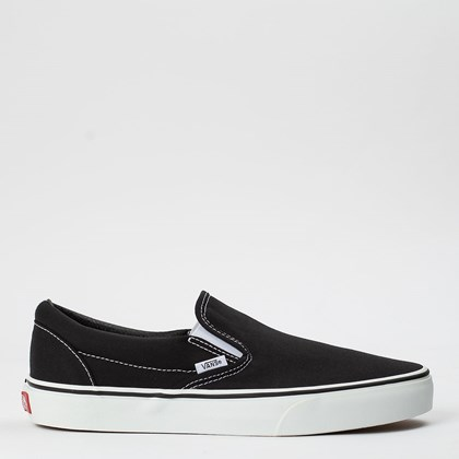 Tênis Vans Classic Slip On Black VN000EYEBLK