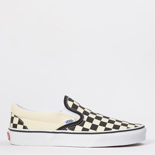 Tênis Vans Classic Slip On Black White Checkerboard VNB00EYEBWW
