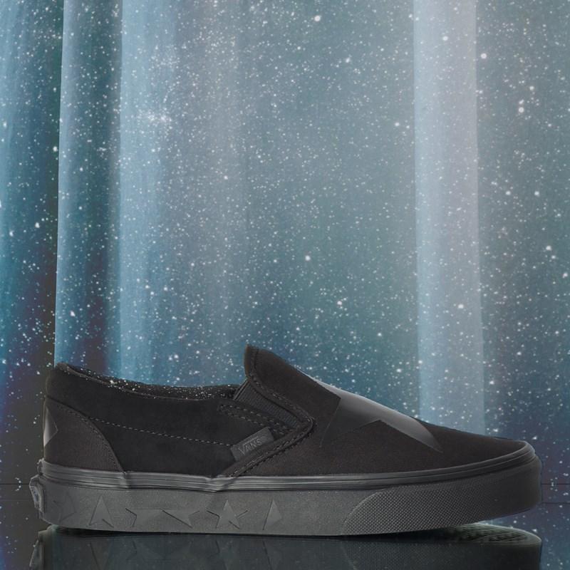 Tênis Vans Classic Slip On David Bowie Blackstar Black VN0A38F7VLZP