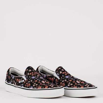 Tênis Vans Classic Slip On Floral Covered Ditsy True White VN0A33TB9HS