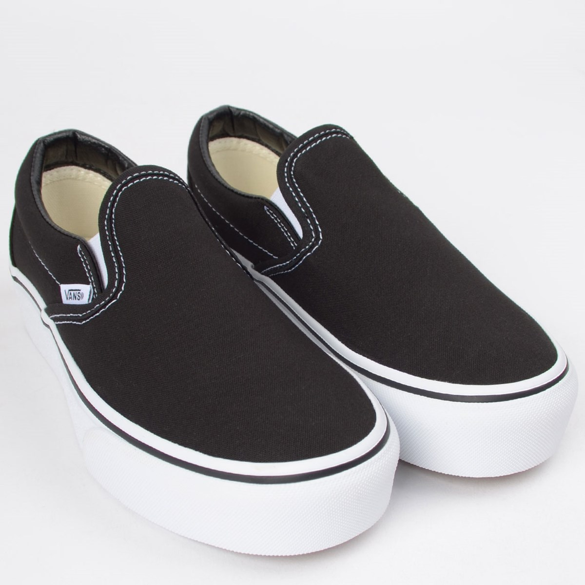 Tênis Vans Classic Slip On Platform Black VN00018EBLK