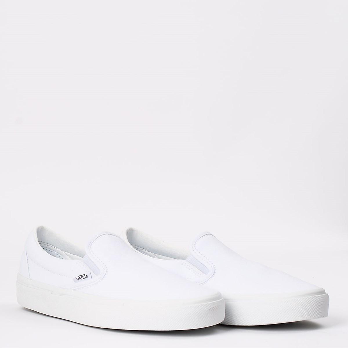 Tênis Vans Classic Slip-On True White VN000EYEW00