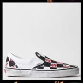 Tênis Vans Classic Slip On Vivienne Westwood Checker True White VN0A4BV3V9I