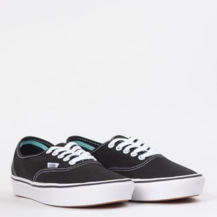 Tênis Vans Comfycush Authentic Classic Black True White VN0A3WM7VNE