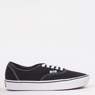734bf4c3c0c Tênis Vans Comfycush Authentic Classic Black True White VN0A3WM7VNEP ...