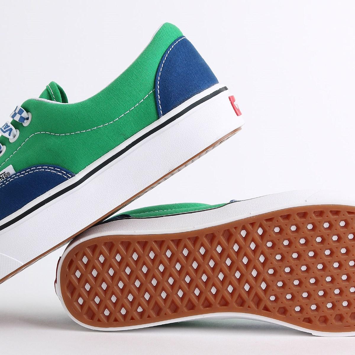 Tênis Vans ComfyCush Era Lace Mix True Blue Fern Green VN0A3WM9WI1