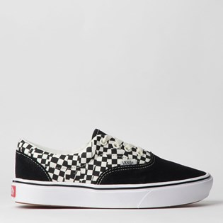 Tênis Vans Comfycush Era Tear Check Black True White VN0A3WM9V9Y
