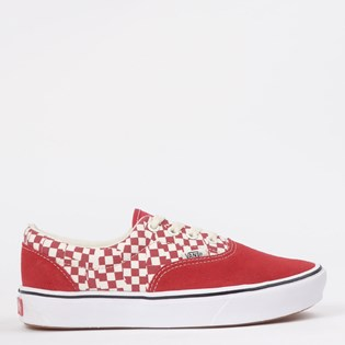 Tênis Vans Comfycush Era Tear Check Racing Red True White VN0A3WM9V9Z