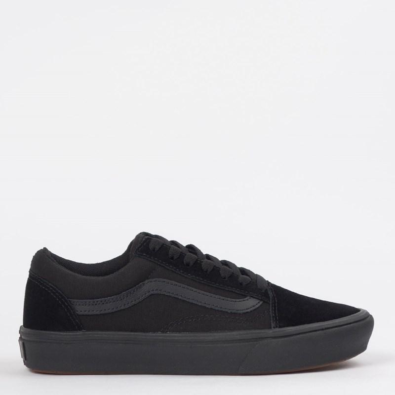 Tênis Vans Comfycush Old Skool Classic Black Black VN0A3WMAVND