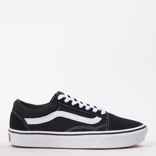 Tênis Vans Comfycush Old Skool Classic Black True White VN0A3WMAVNE