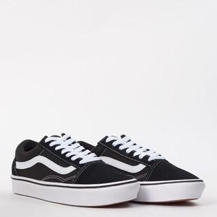 Tênis Vans Comfycush Old Skool Classic Black True White VN0A3WMAVNEP