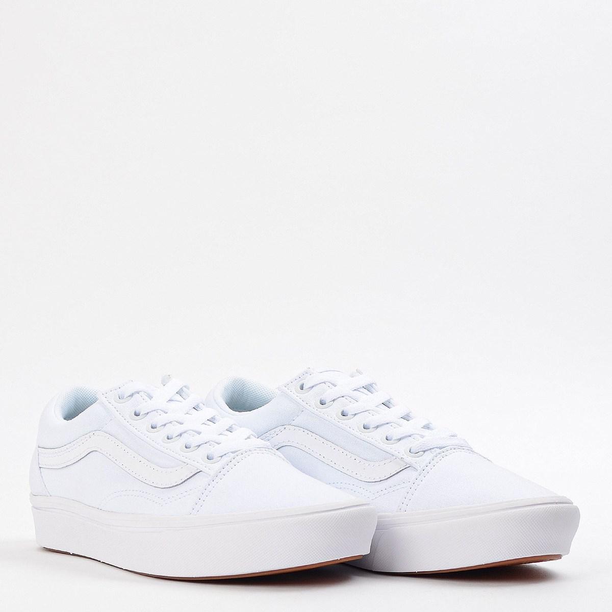 Tênis Vans Comfycush Old Skool Classic True White True White VN0A3WMAVNG