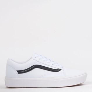 Tênis Vans Comfycush Old Skool Classic Tumble True White VN0A3WMAODJ