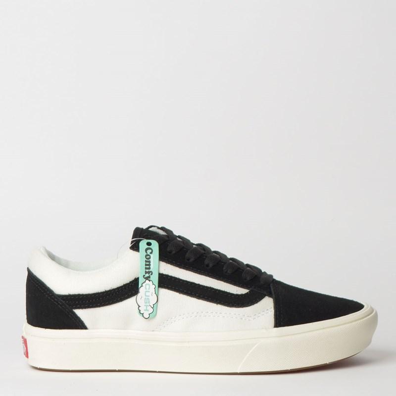 Tênis Vans Comfycush Old Skool Socks Black Marshmallow VN0A3WMAVNV