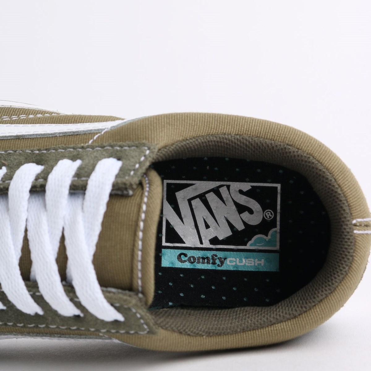 Tênis Vans Comfycush Old Skool Suede Textile Grape Lead VN0A3WMAWX3