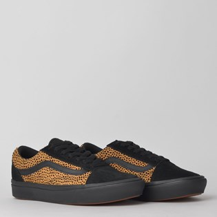 Tênis Vans Comfycush Old Skool Tiny Cheetah Black VN0A3WMAVWS