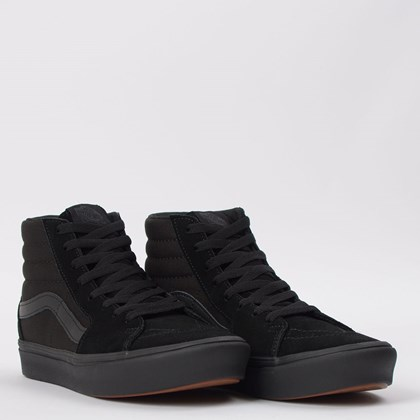 Tênis Vans Comfycush Sk8 Hi Black Black VN0A3WMBVND