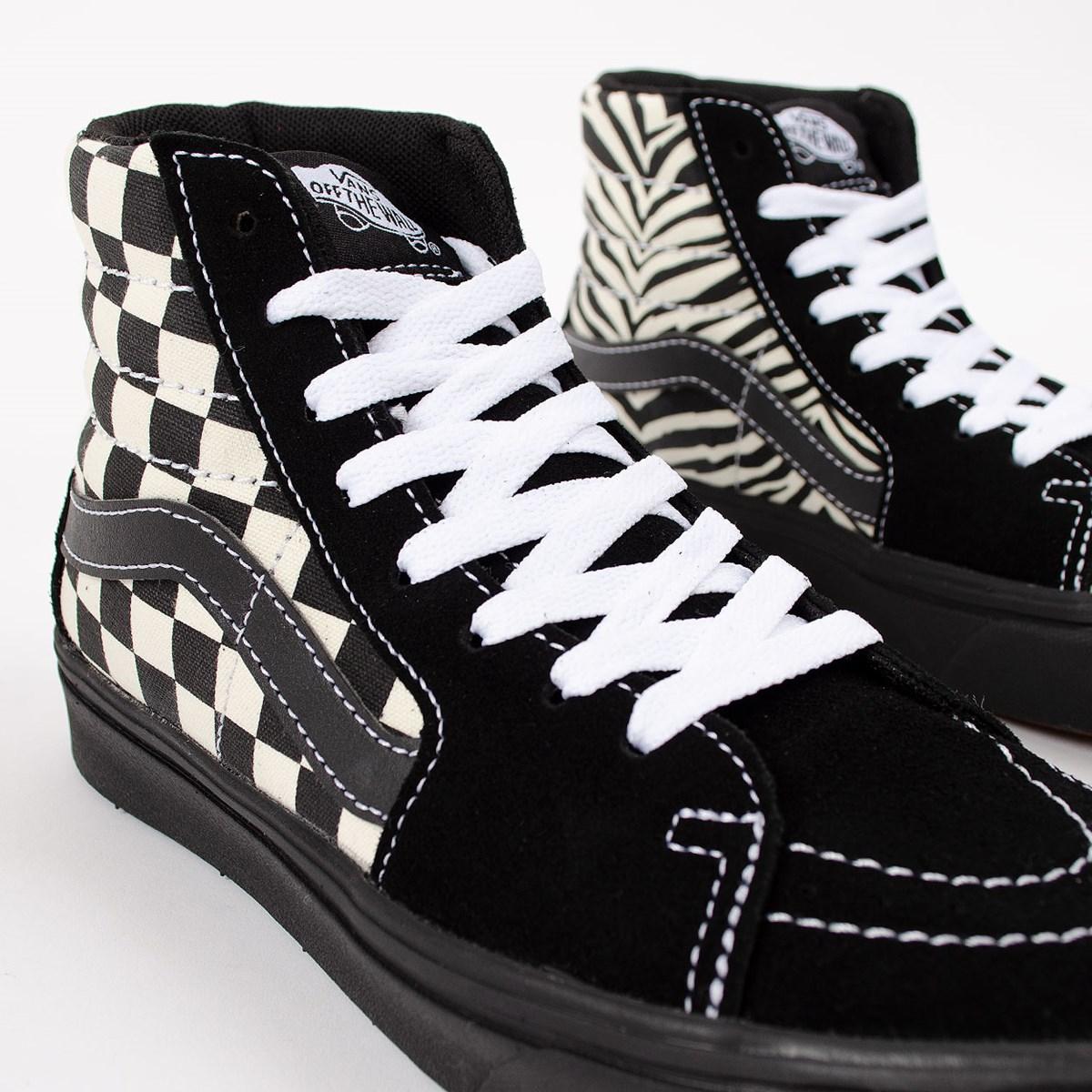 Tênis Vans Comfycush Sk8 Hi Mixed Media Antique White Black VN0A3WMB17Q