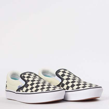 Tênis Vans Comfycush Slip On Classic Checkerboard VN0A3WMDVO4