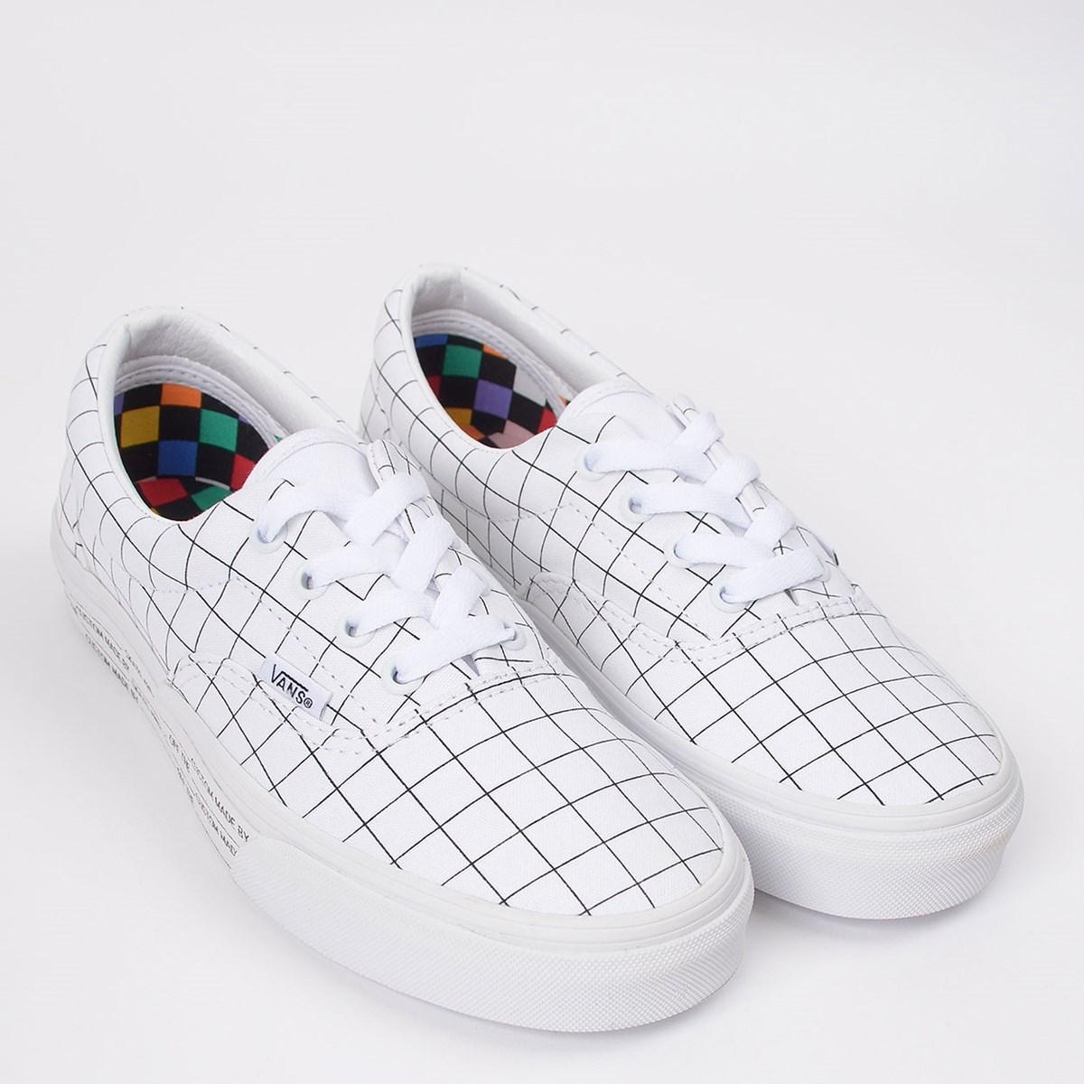 Tênis Vans Era U-Color Checkerboard True White VN0A4U391UG