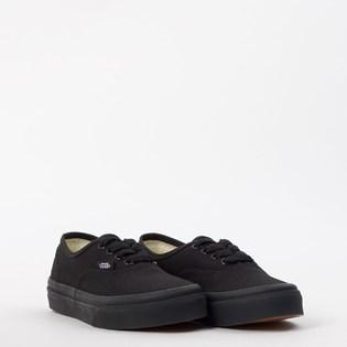 Tênis Vans Kids Authentic Black Black VN000WWXENR