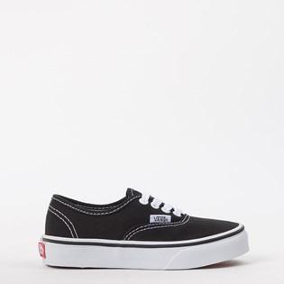 Tênis Vans Kids Authentic Black True White VN000WWX6BT