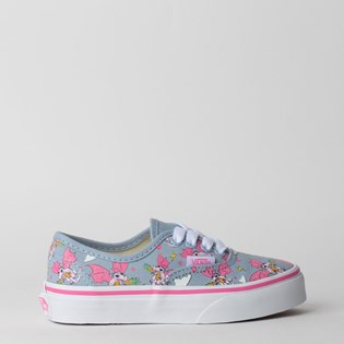 Tênis Vans Kids Authentic Rainbow Dragon Blue Fog True White VN0A3UIVV3A