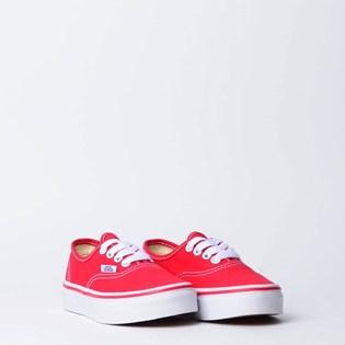 Tênis Vans Kids Authentic Red VN000WWX6RT