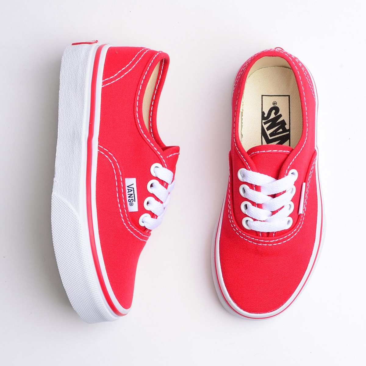 Tênis Vans Kids Authentic Red VN000WWX6RT