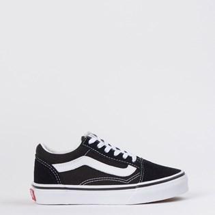 Tênis Vans Kids Old Skool Black True White VN000W9T6BT