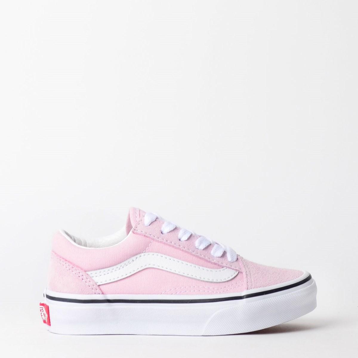 Tênis Vans Kids Old Skool Lilac Snow True White VN0A4BUUV3M