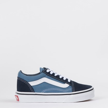 Tênis Vans Kids Old Skool Navy True White VN00W9TNWD