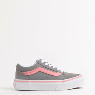 Tênis Vans Kids Old Skool Pop Frost Gray Pink Icing VN0A4BUUWL9