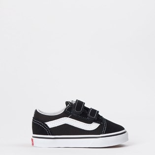 Tênis Vans Kids Old Skool Toddler Black White VN000D3YBLK