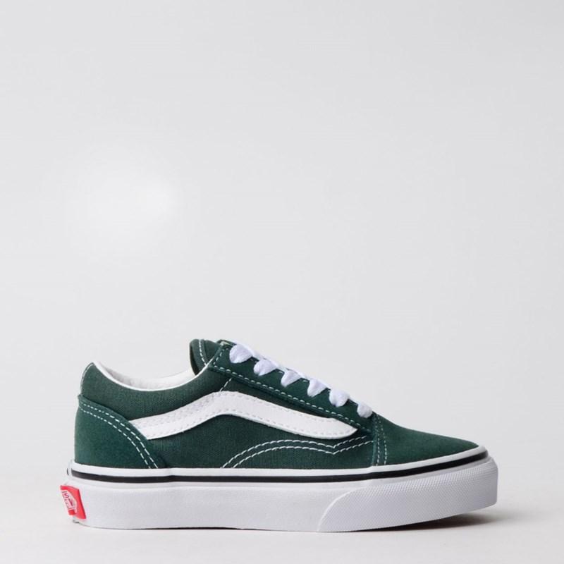 Tênis Vans Kids Old Skool Trekking Green True White VN0A4BUUV3N