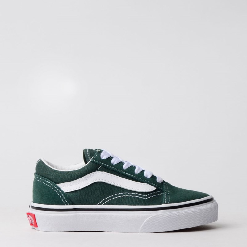 Tênis Vans Kids Old Skool Trekking Green True White VN0A4BUUV3N