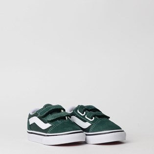 Tênis Vans Kids Old Skool V Trekking Green True White VN0A38JNV3N