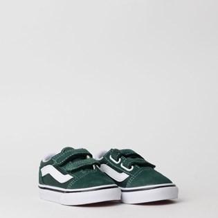 Tênis Vans Kids Old Skool V Trekking Green True White VN0A38JNV3N