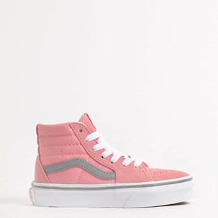 Tênis Vans Kids Sk8 Hi Pop Pink Icing Frost Gray VN0A4BUWXWE