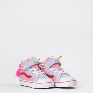Tênis Vans Kids Sk8 Hi Reissue 138 V Unicorn Pink Icing VN0A4TZQWLI