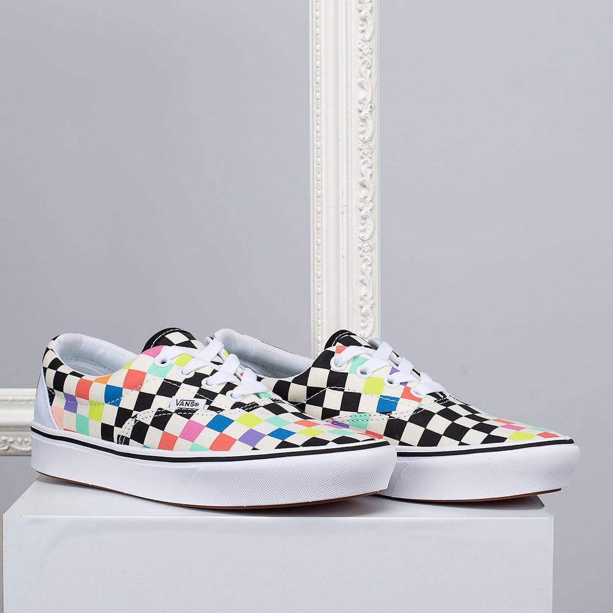 Tênis Vans MoMA Era Comfycush Brand Checkerboard VN0A3WM91PJ