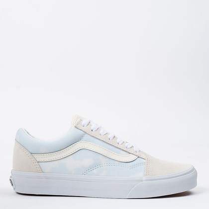 Tênis Vans Old Skool Bleach Wash Ballad Blue VN0A3WKT3XO