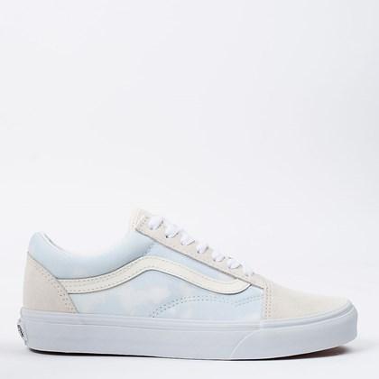 Tênis Vans Old Skool Bleach Wash Ballad Blue VN0A3WKT3XO